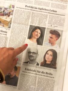EMMA Pforzheim Zeitungsausschnitt