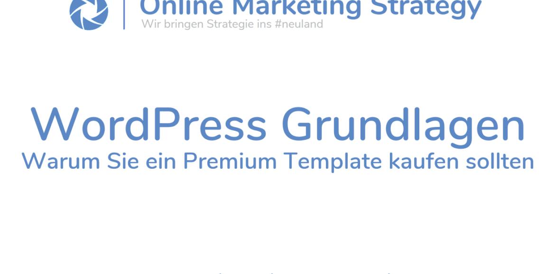 WordPress Grundlagen Themes - OMS